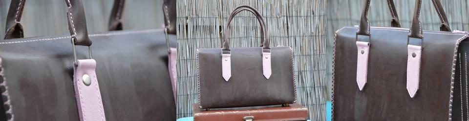 Waxed Pink Handbag (1)