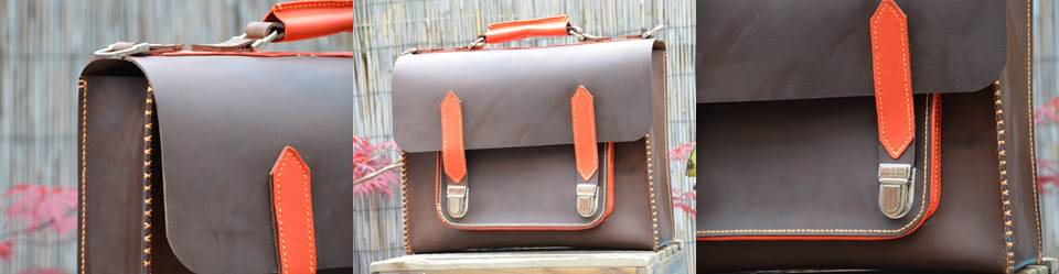 Orange Satchel June 18