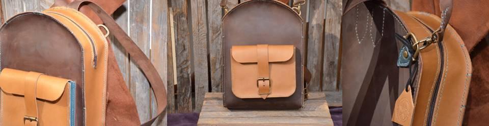 Zip top rucksack